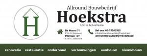Allround bouwbedrijf Hoekstra